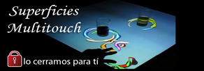 Superficies Multitouch para eventos, discotecas y salas de fiesta